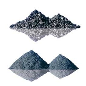 Filtermaterial wie Quarzsand, Hydroantrazith, Aktivkohle